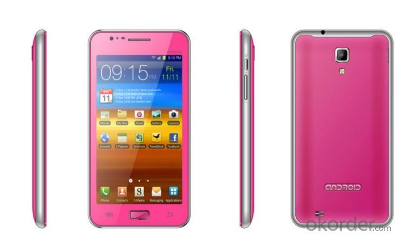 New Arrival 5 inch Quad core MTK6582 Smartphone