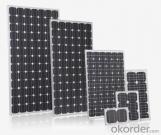 Celda solar de silicio 156mm*156mm de diferente eficiencia