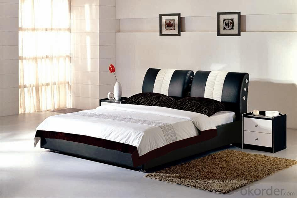 High Quality Modern Leather Bed  CN117