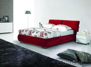High Quality Modern Leather Bed  CN10