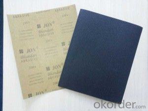 waterproof abrasive sanding paper P60-P2000