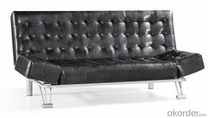Leather sofabed in pu model-3