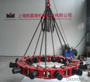 SP606 pile breaker connect with excavator used for break pile concrete breaker