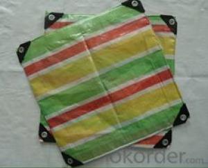 Reinforced plastic pe used tarpaulins