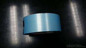 Adhesive Aluminium Foil Tape with White and Black Foil