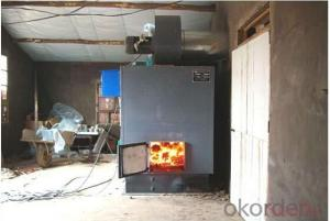 Green house coal-fired heating machine hot blast stove