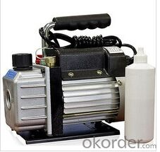 Single-Stage 3CFM Rotary Vane Deep Vacuum Pump 1/4HP