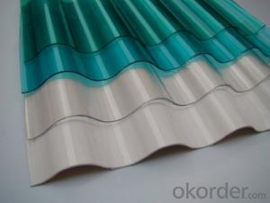 CMAX-Corrugated Polycarbonate Sheet