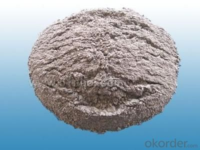 High alumina refractory mortars