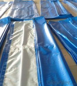 Tarpaulin used for construction