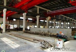 Steel Heavy Rail for Construction with High Quality Made in China