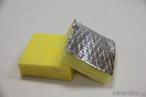 Alu Foil faced Glass Wool Blanket for Wall Partion