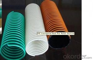 PVC Corrugated hose for water suction