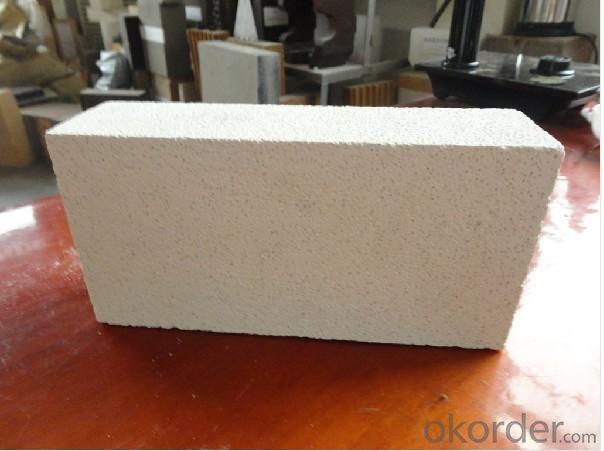 Blast furnace with corundum mullite bricks