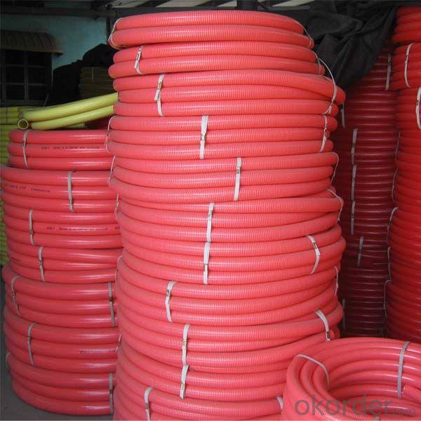 Red Color PVC SUCTION HOSE