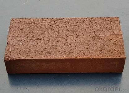 Clay brick of hot air stove