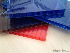 CMAX- 4-16MM Hollow PC Sheet Widely used in Greenhouse