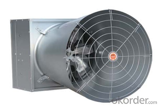 Butterfly Cone stainess steel exhaust fan for livestock farm