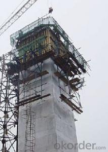 Cantilever Formwork-concrete pouring of pier