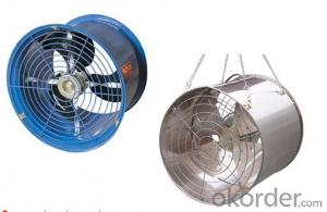 Air Circulation Fans Poultry house/green house ceiling ventilator