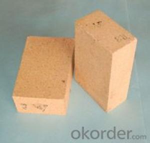 Ladle with high alumina brick