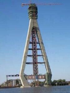 Auto-Hydraulic climbing formwork-baker tower