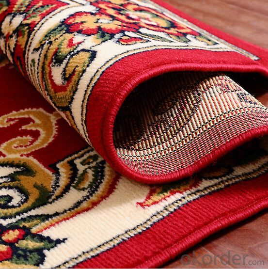Persian Rugs, 100% Viscose Rug with Design
