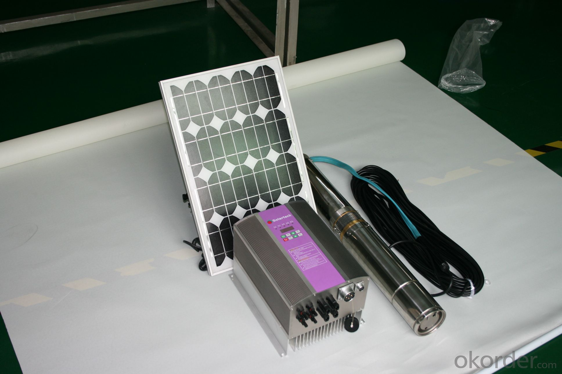 AC Solar Water Submersible Pump