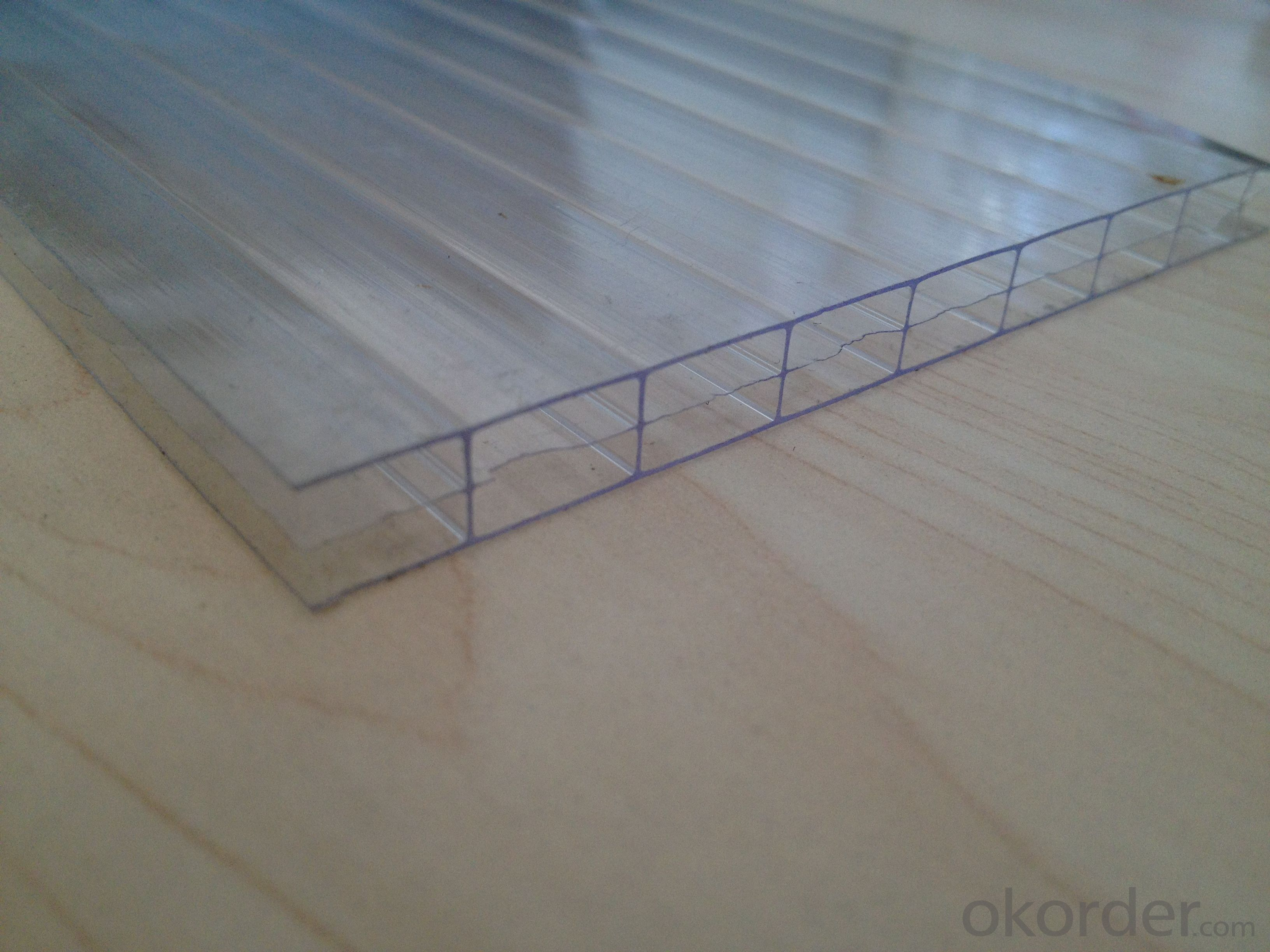 CMAX- Triple-wall Hollow Polycarbonate Sheet