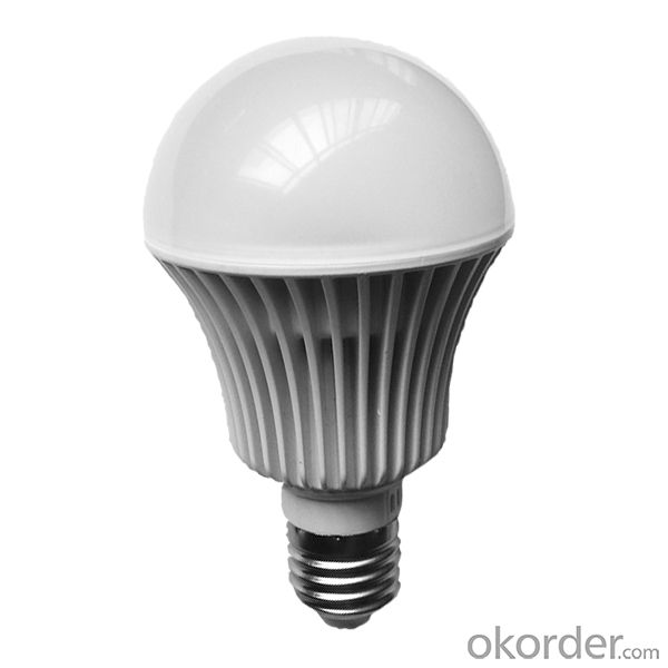 Aluminum led bulb housing 8w e27
