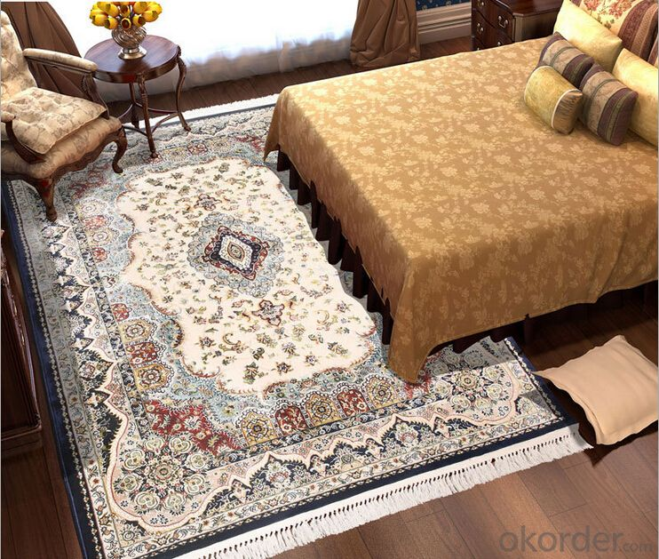 BEST-SELLER 100% viscose carpet