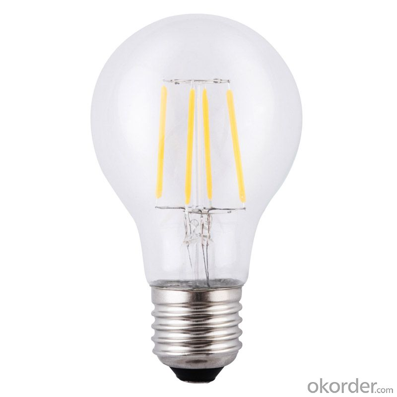 Warm white 2700K filament led bulb E26 E27 8W