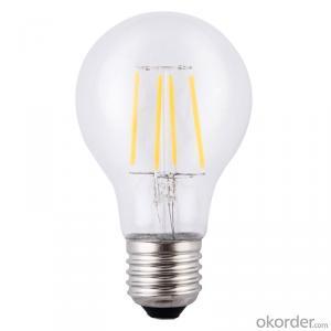 filament led bulb E26 E27 6W