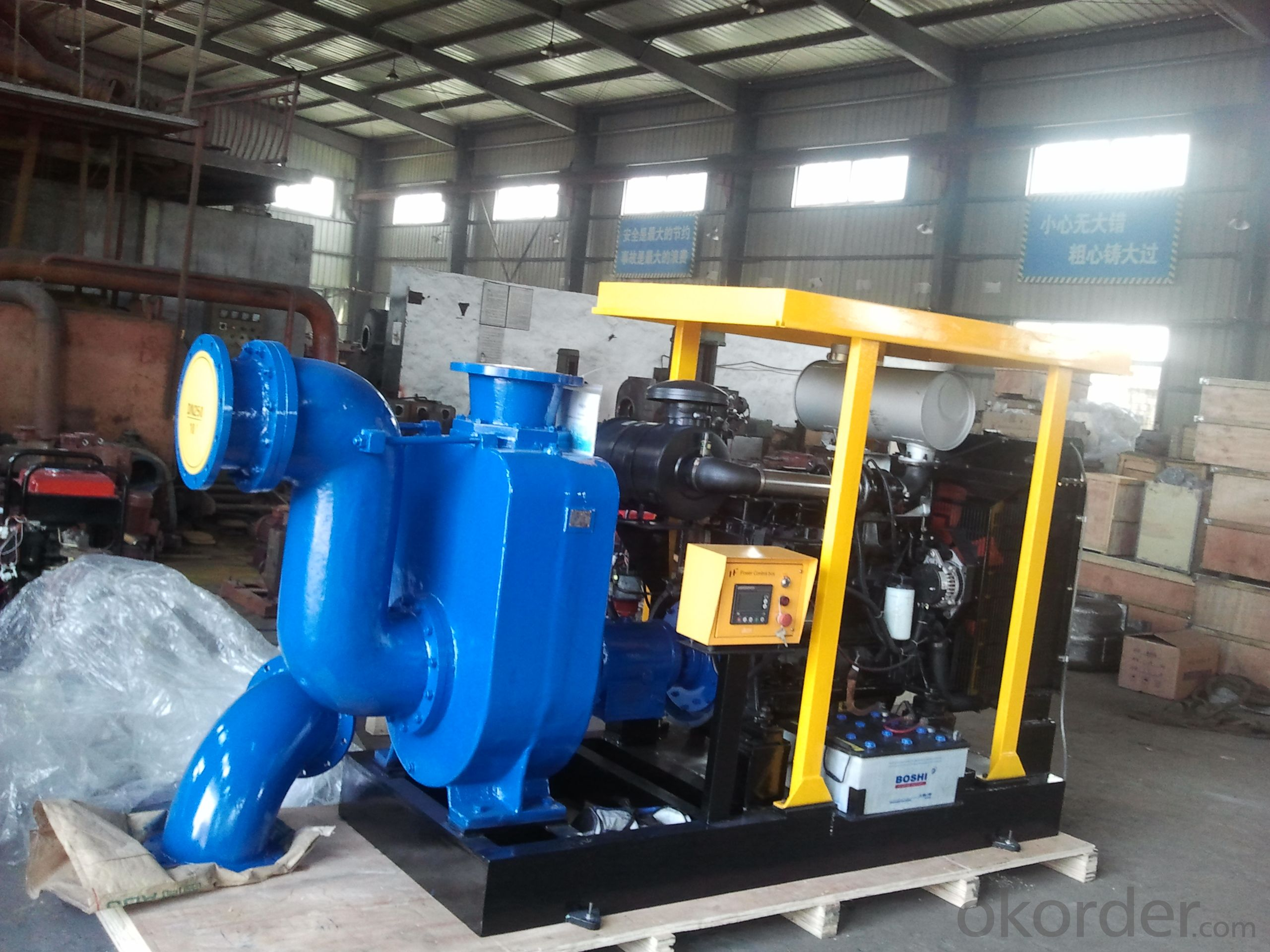 Bigger 250ZX400-50 self priming centrifugal diesel engine irrigation pump for farm