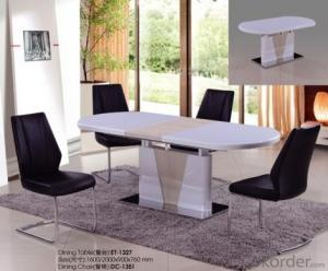High Gloss Wooden Dining Table Modern Design ET-1325