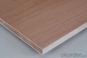 Okoume Blockboard Poplar Core Other Small size available