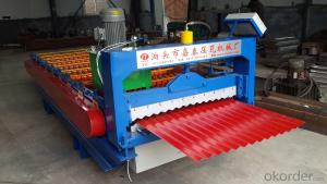Pressure tile machine 850