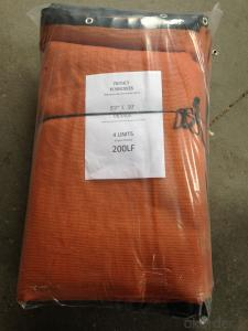 Warning Fence Net for American Construction Market 100g