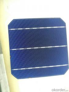 156*156MM MONOCRYSTAL SOLAR CELL WITH 4.67 WATT HIGH EFFICIENCY