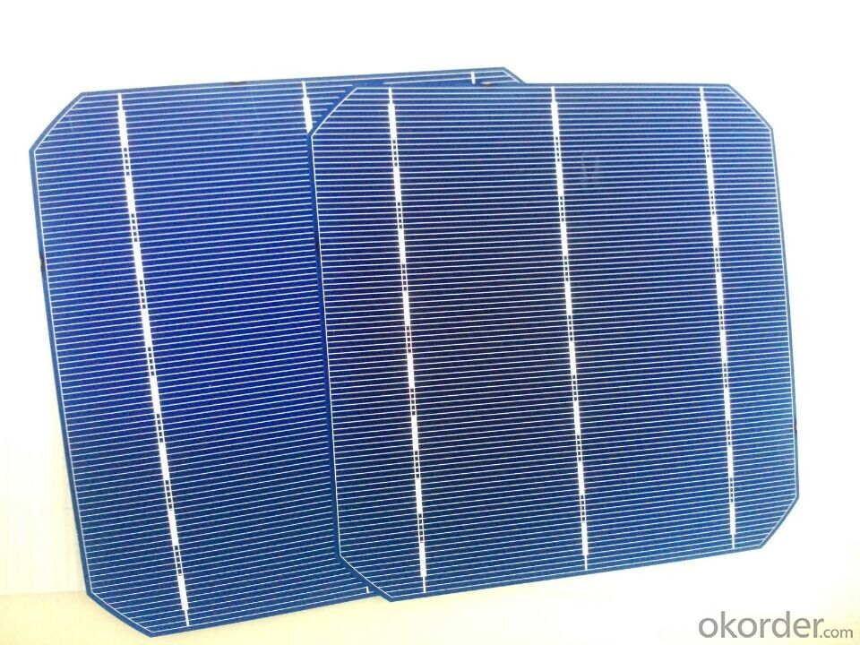 Monocrystal Solar Energy Cell 156*156mm with18.9% Efficienc