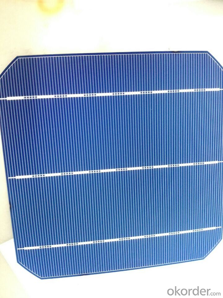 Monocrystal Solar Energy Cell  156*156mm with18.2% Efficiency