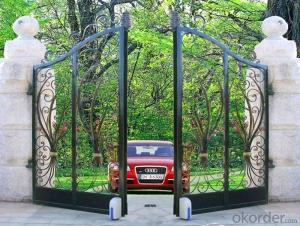 Collapsible gate/Retractable door/Electrical Foldable Gates
