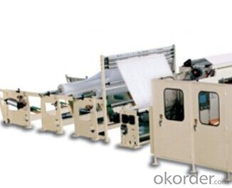 YD-PL250 Non-stop Toilet Roll Rewinding Line