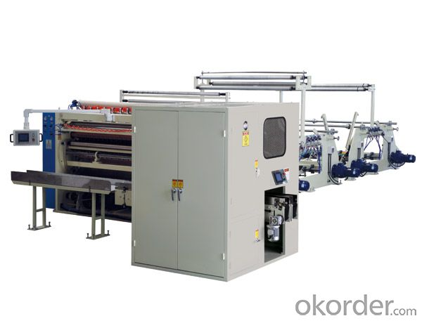 YH Automatic facial tissue production line(2900)