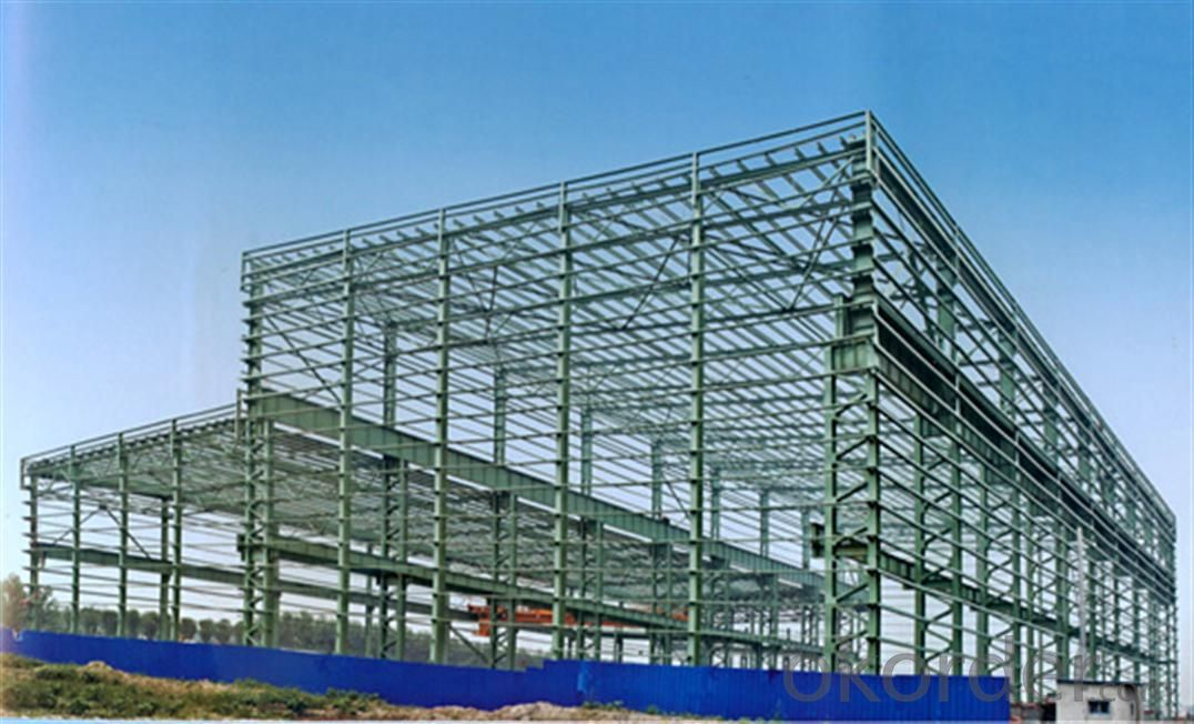 Grid frame steel structure