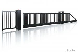 Electrical Foldable Gates with high quality