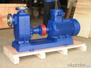 ZX Type self priming centrifugal Stainless steel EX-Proof motor pump