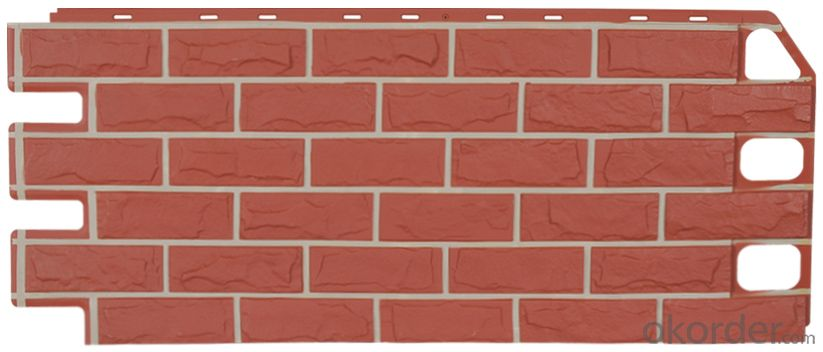exterior brick panel siding wall panel VD100101-VDC116