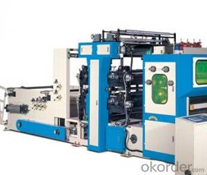 YH-B-4L/5L/6L Printing/Embossing Facial Tissue Folder