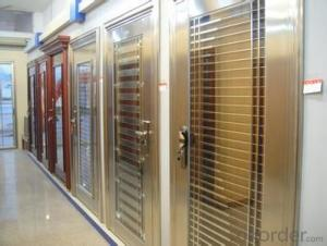 new design steel door (LT-313) steel security door